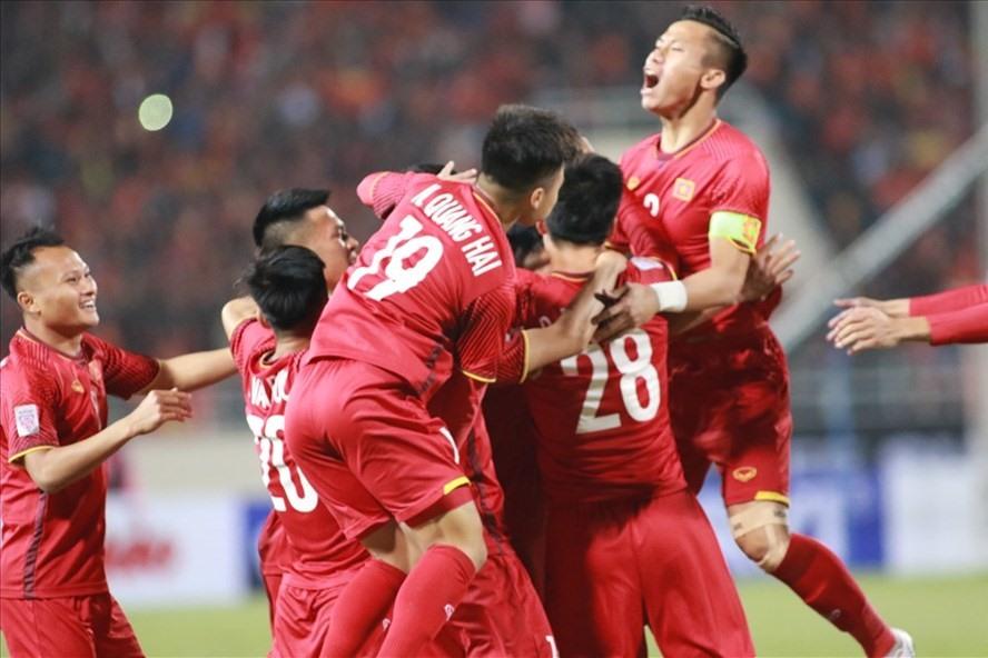 ĐT Việt Nam vô địch AFF Cup 2018 sau khi đánh bại Malaysia. Ảnh: H.A