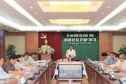 Bộ Chính trị yêu cầu hoàn thiện cơ chế, chống chạy chức, chạy quyền
