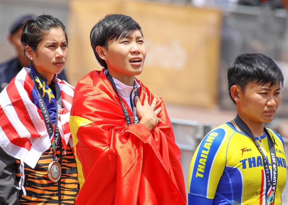 Nguyễn Thị Thật đã khẳng định được vị trí số 1 với 2 HCV ở SEA Games 2017