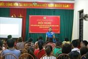 Tập huấn chính sách pháp luật cho công nhân khu nhà trọ