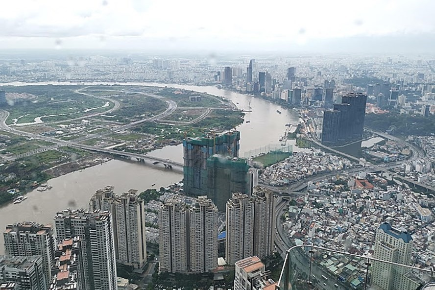 Giá bán căn hộ mới trên thị trường sơ cấp tại TP.HCM tăng cao nhất trong 5 năm trở lại đây (ảnh:PK).