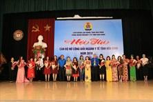 Hội thi cán bộ nữ công giỏi ngành Y tế Hòa Bình năm 2019