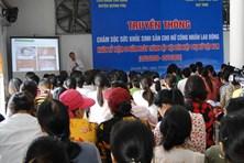 LĐLĐ huyện Quỳnh Phụ tổ chức truyền thông chăm sóc sức khỏe cho CNLĐ
