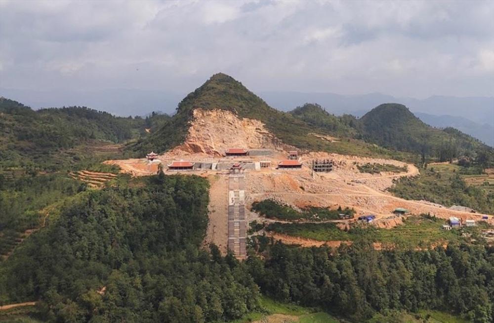 Kiểm tra dự án du lịch văn hoá tâm linh Lũng Cú, thang máy di tích Đồn Cao