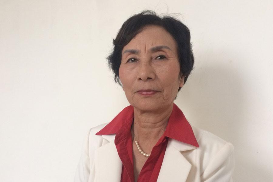 PGS-TS Bùi Thị An - nguyên Đại biểu Quốc hội khóa XIII đoàn Hà Nội. Ảnh: QUẾ CHI