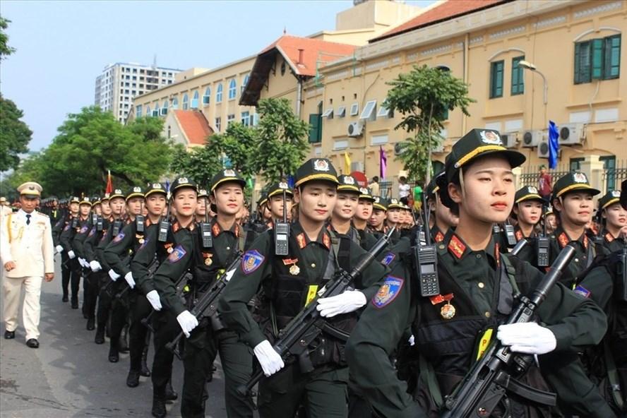 Bộ Công an cho rằng cần thiết phải xây dựng Luật Cảnh sát cơ động. Ảnh minh họa: Trần Vương