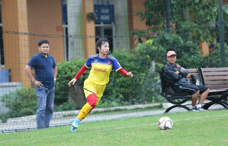 """Bóng đá nữ Việt Nam bỗng dưng được quan tâm nhiều vì...""""hot girl"""" U19. Ảnh: Vietnam Football"""