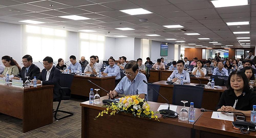 Đại biểu tham dự họp báo (ảnh: Trung tâm Báo chí TP.HCM).