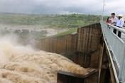 Hàng loạt hồ chứa, hồ thủy điện xả nước điều tiết