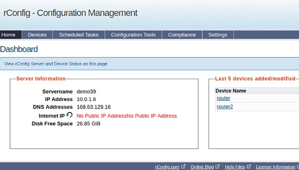 Phát hiện lỗ hổng bảo mật nguy hiểm trong tiện ích quản lý cấu hình mạng phổ biến thường gặp (rConfig).