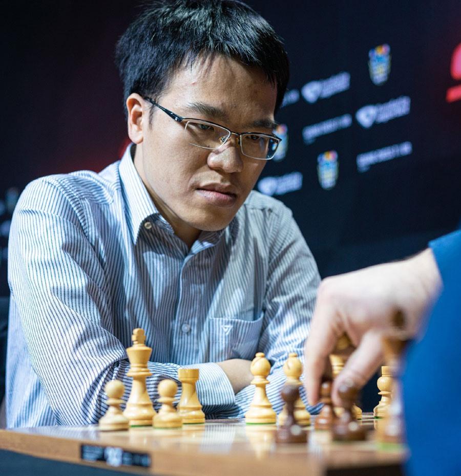 Sự góp mặt của Lê Quang Liêm được hy vọng sẽ giúp Cờ vua Việt Nam đạt thành tích cao tại SEA Games 30. Ảnh: GRAND CHESS TOUR