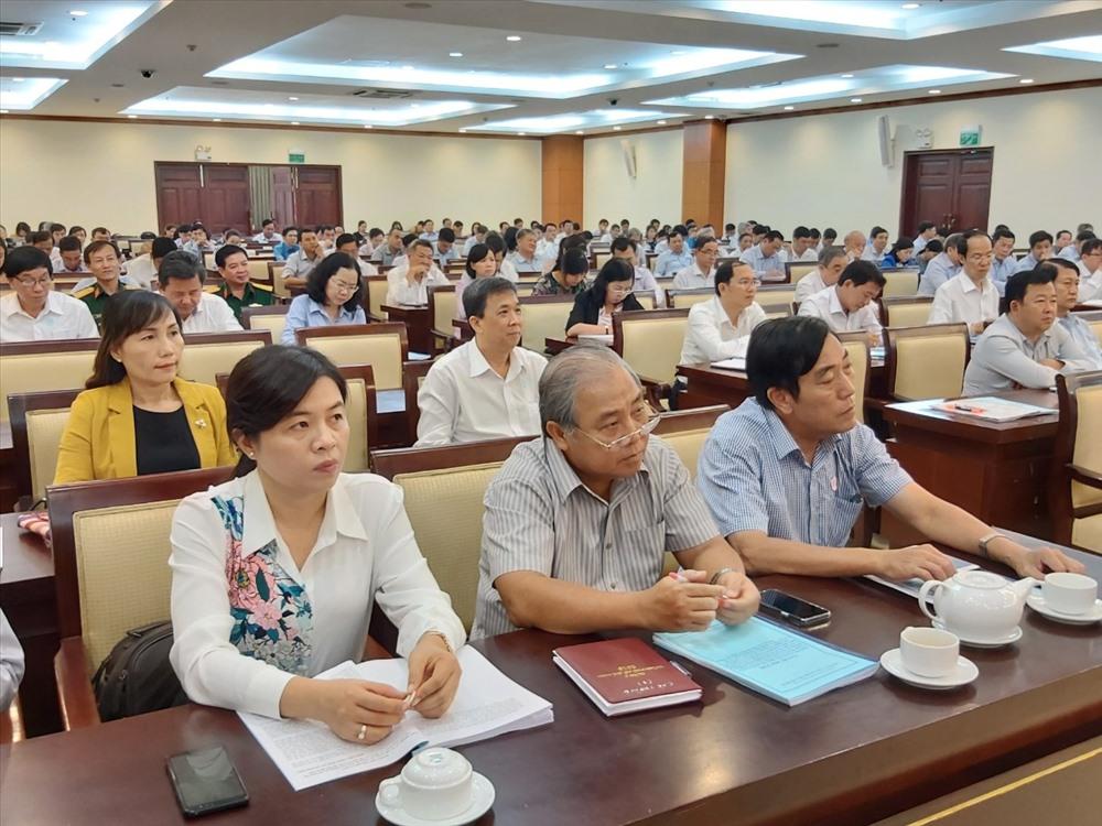 Các đại biểu tham dự hội nghị. Ảnh Nam Dương