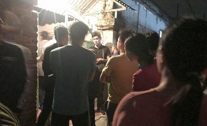 Chồng sát hại vợ rồi cuốn chăn đốt xác ngay tại nhà ở Thái Bình