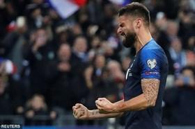 """Pháp thắng nhọc nhằn """"nhược tiểu"""" Moldova 2-1"""