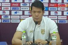 """Thủ môn Kawin: """"Tuyển Thái Lan đã hoàn thiện hơn so với thời Kiatisuk"""""""