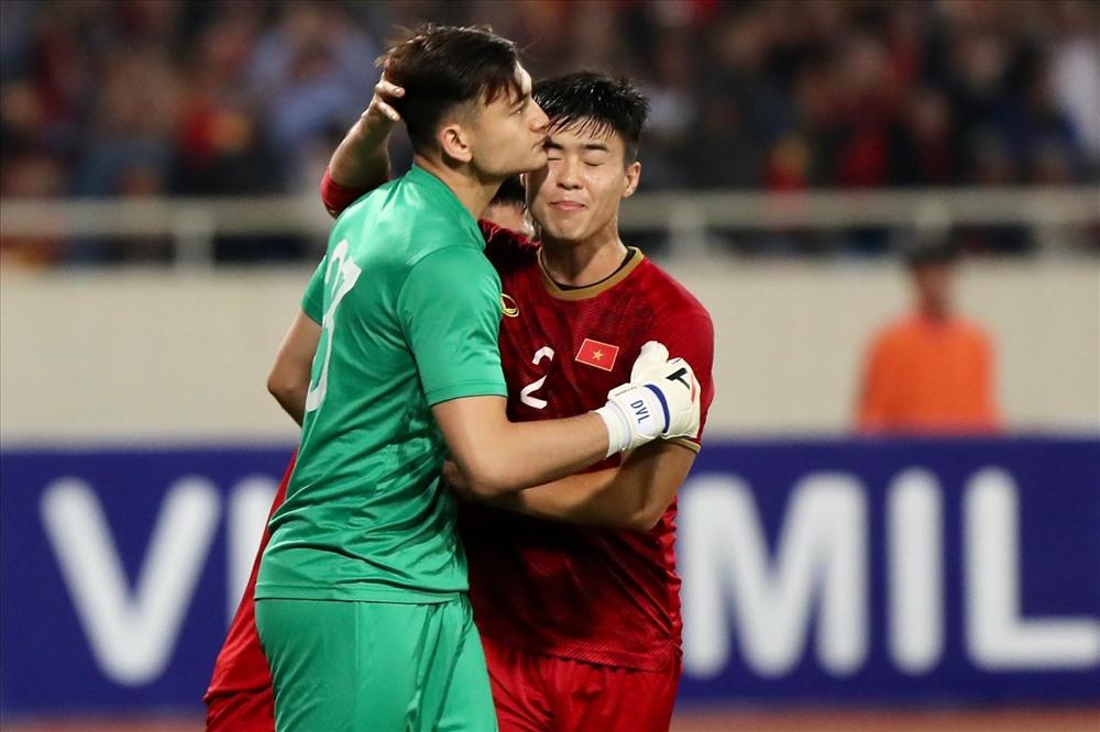 Đặng Văn Lâm đã có một trận đấu với phong độ xuất sắc góp phần giúp đội tuyển Việt Nam hoà Thái Lan 0-0.