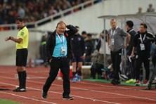 Thầy Park nói về tình huống trọng tài từ chối bàn thắng của tuyển Việt Nam