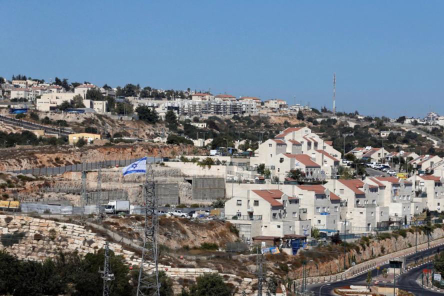 Khu định cư của người Do Thái ở Bờ Tây. Ảnh: N.N