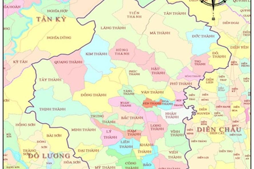 Huyện Yên Thành (Nghệ An) xuất hiện một số điểm bị rung chấn trong ngày 20.11. Ảnh: PV