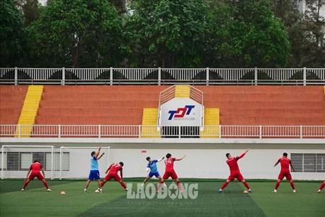 """U22 Việt Nam tập kín, Thầy Park """"ủ mưu"""" giật Cup vàng SEA Games 30"""