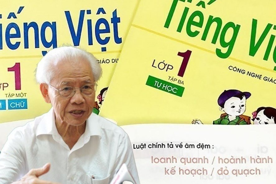 """Thời gian qua, dư luận có nhiều tranh cãi về việc bộ sách đã """"sống 40 năm"""" của GS Hồ Ngọc Đại bị đánh giá không đạt."""