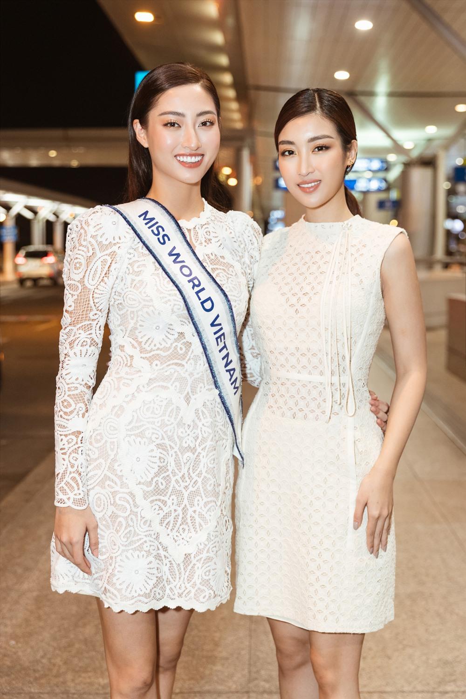 """Cô chia sẻ: """" Sự cố visa với Linh chỉ là vạn sự khởi đầu nan, Linh xin khẳng định, xuất phát chậm sẽ không ảnh hưởng tới tinh thần chiến đấu và kết quả của Linh tại Miss World 2019"""". Ảnh: Sen Vàng."""