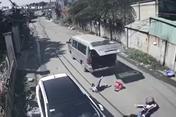 Đồng Nai: Sở GDĐT xác minh gấp vụ xe cua gấp, 3 học sinh văng xuống đường