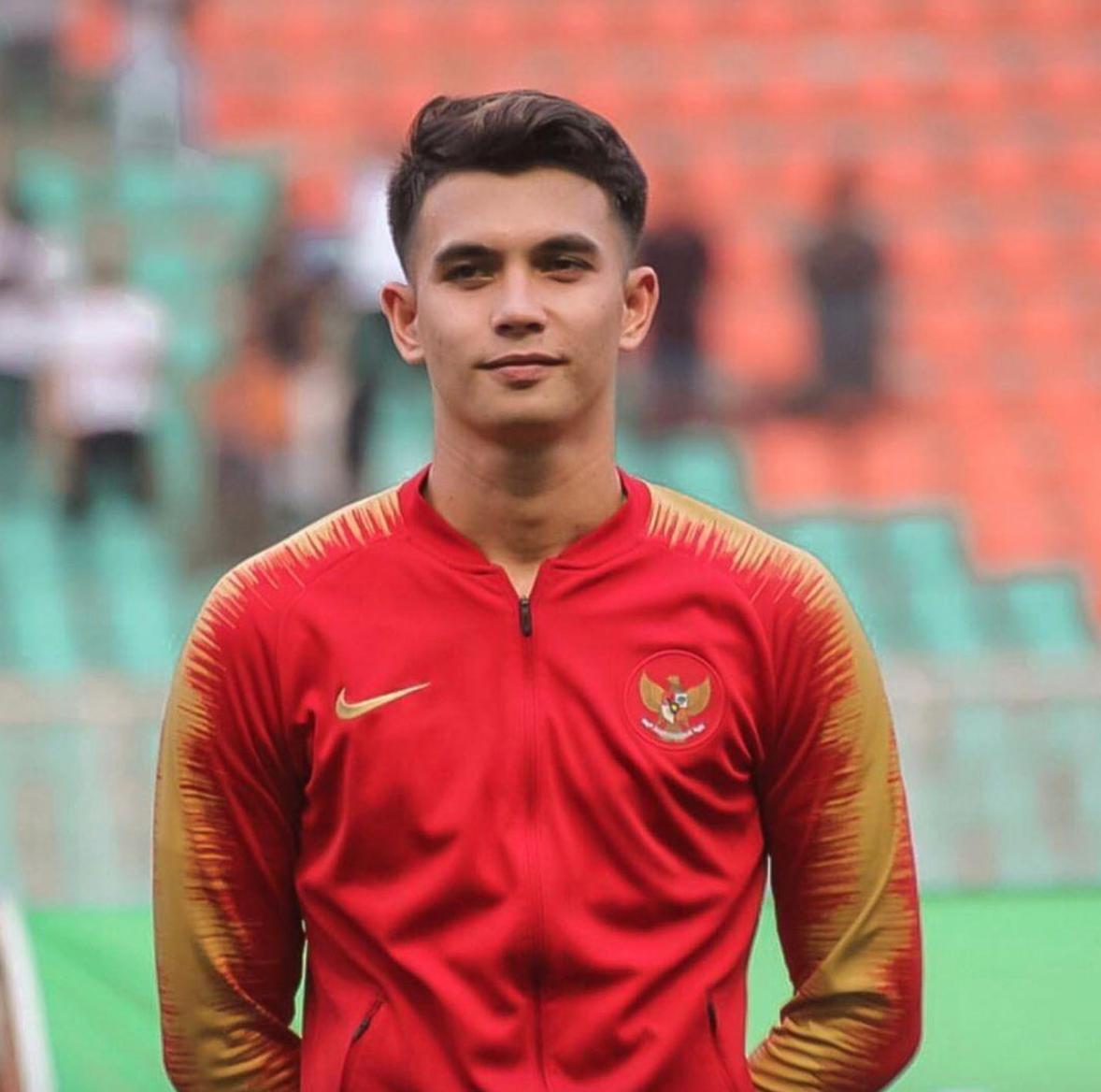 Nadeo Winata, thủ môn đội bóng đá nam Indonesia. Ảnh: IG nadeowinataa
