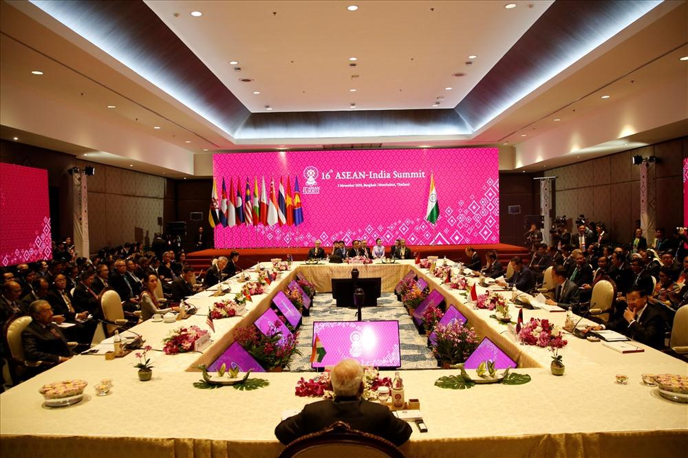 Hội nghị Cấp cao ASEAN - Ấn Độ lần thứ 16. Ảnh: Asean2019.go.th.