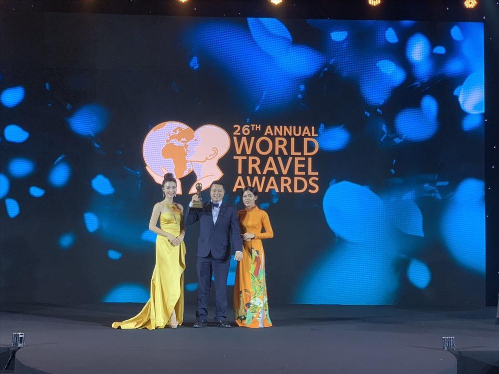 Đại diện Sun World Fansipan Legend nhận giải WTA 2019