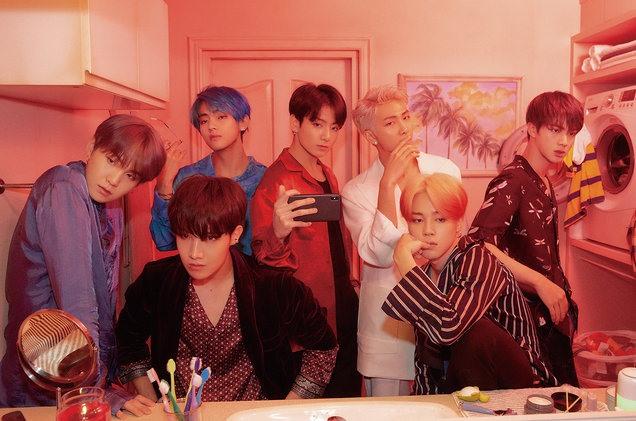 Nhóm nhạc BTS. Ảnh: Billboard.