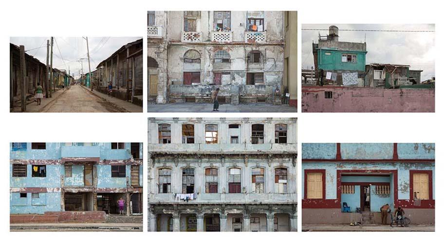 Nhà ở xã hội tại Cuba. Ảnh: Inge Schuster