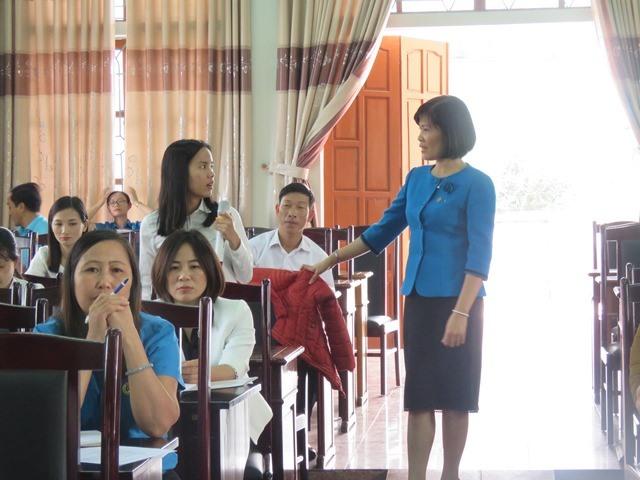 Tương tác giữa giảng viên với học viên