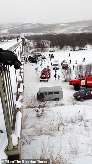 19 người thiệt mạng trong vụ tai nạn ở Siberia. Ảnh: Siberia Times.