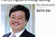 Vì sao ông chủ Masan không còn là tỷ phú USD?