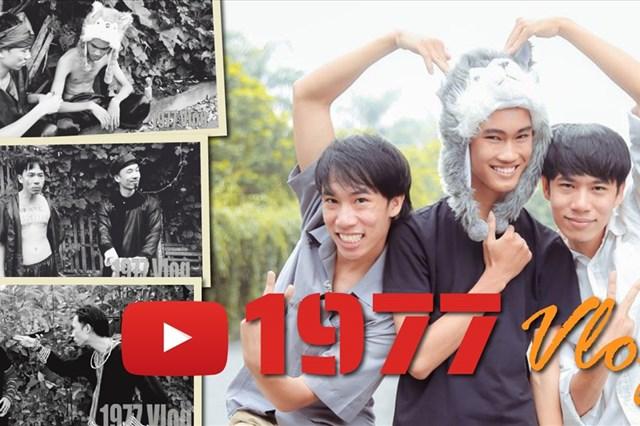 1977 Vlog và những dấu mốc của kênh youtube giành nút vàng sau 4 clip