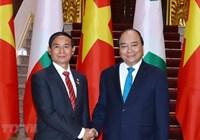 Thủ tướng Nguyễn Xuân Phúc thăm chính thức Myanmar
