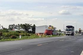 Xử lý các công trình sai phạm trên đường dẫn cầu Vàm Cống