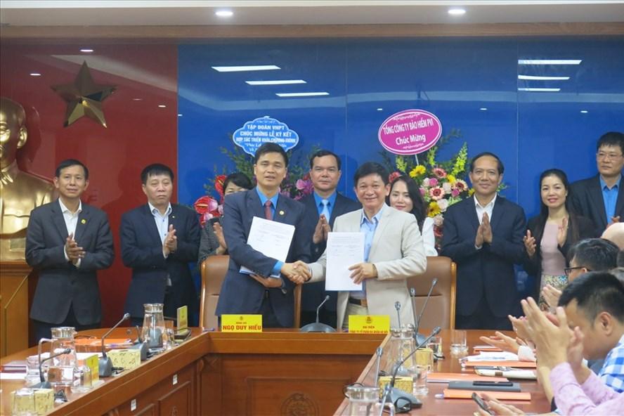 Lễ ký kết diễn ra chiều 17.12 tại Hà Nội. Ảnh: Trí Anh