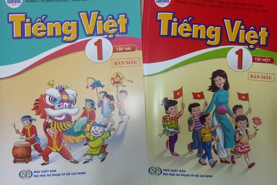 Sách tiếng Việt lớp 1- bộ sách Cánh diều.
