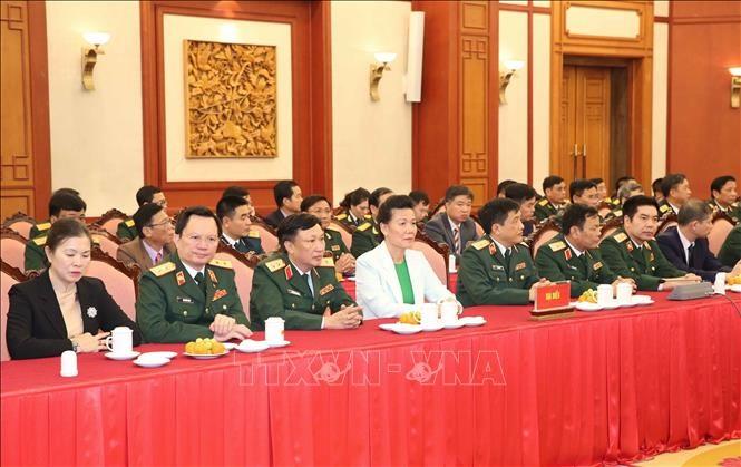 Đại biểu tham dự buổi gặp mặt. Ảnh: Phương Hoa/TTXVN