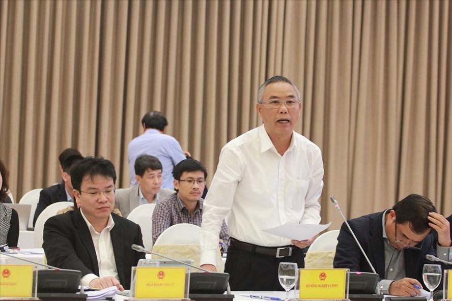 Thứ trưởng Bộ NNPTNT Phùng Đức Tiến. Ảnh T.Vương