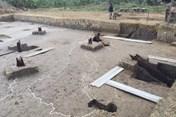 Bãi cọc Bạch Đằng gần ngàn năm tuổi sẽ được lấp đất lại để bảo quản?