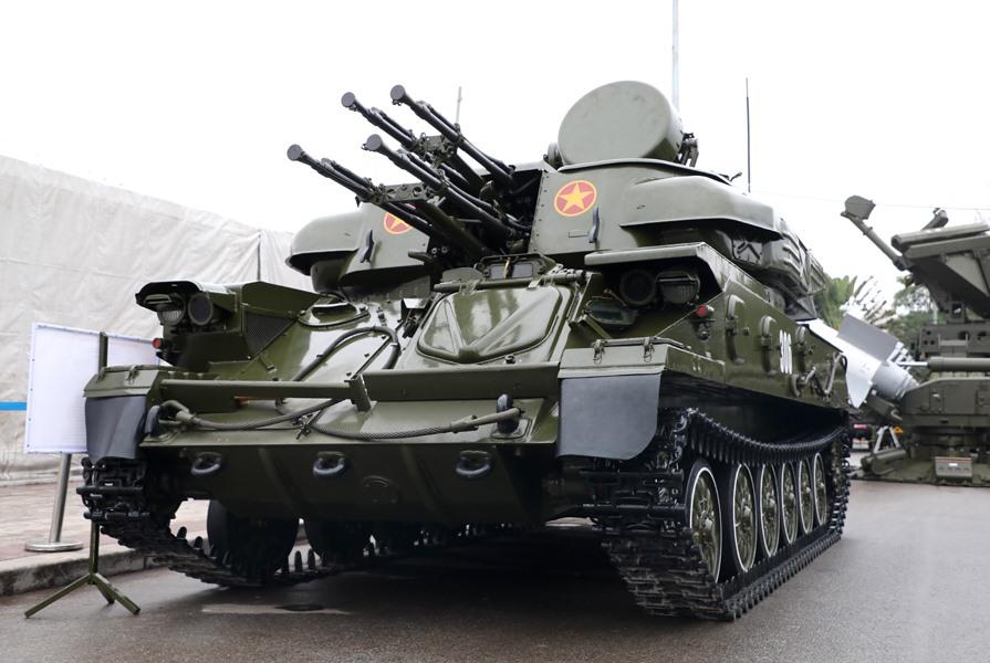 Tổ hợp pháo phòng không tự hành ZSU-23-4M1 có khả năng tiêu diệt các mục tiêu trên không ở độ cao thấp, tiêu diệt mục tiêu mặt đất, mặt nước ở cự ly gần.
