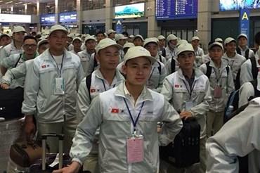 14.772 lao động Việt Nam đi làm việc ở nước ngoài trong tháng 11 năm 2019. Ảnh Dolab.