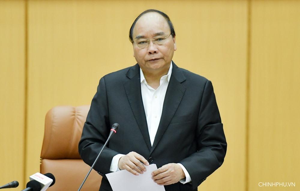 Thủ tướng Nguyễn Xuân Phúc. Ảnh: Quang Hiếu/VGP.