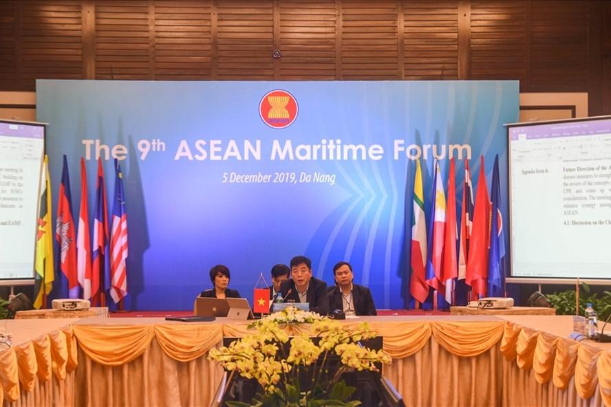 Khai mạc diễn đàn biển ASEAN lần thứ 9 tại Đà Nẵng. Ảnh: TT