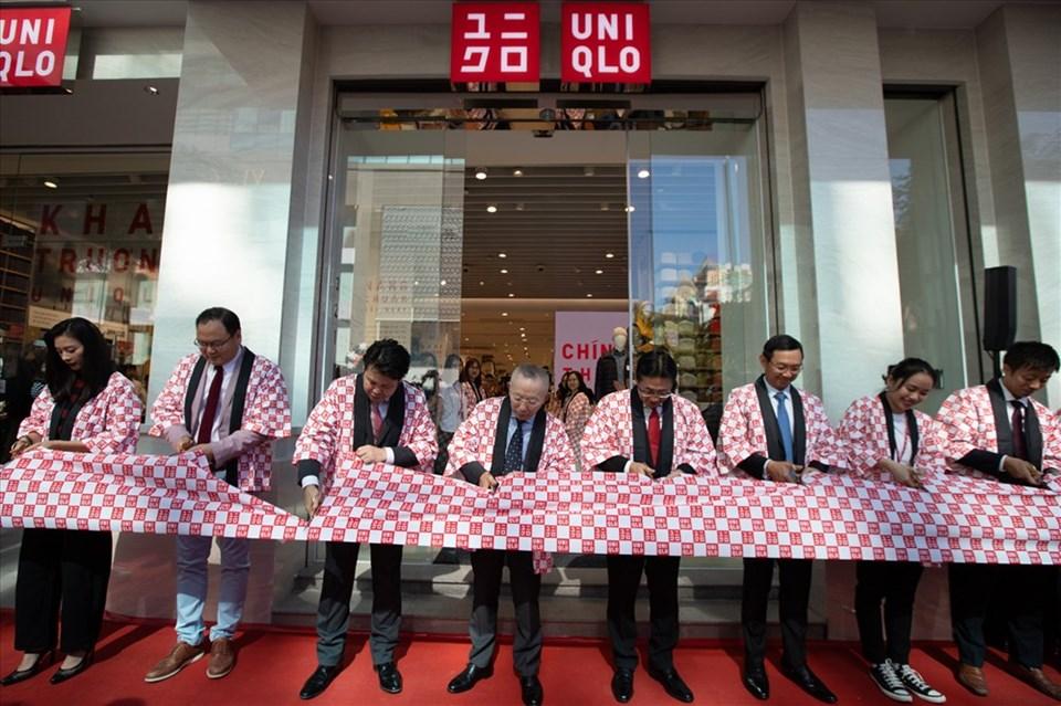 Khai trương cửa hàng UNIQLO đầu tiên tại Việt Nam