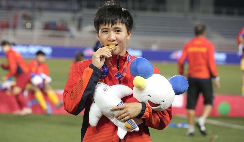 Tuyển thủ Tuyết Dung đã đóng góp lớn vào thành công chung của đội.