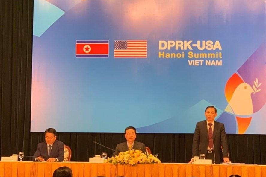 Hà Nội cam kết đảm bảo tuyệt đối an toàn cho thượng đỉnh Mỹ - Triều. Ảnh: PV.